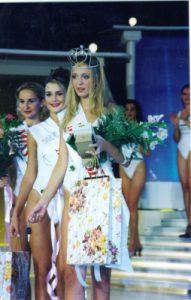Jasmina Mahmutović Miss BiH za 2000. godinu