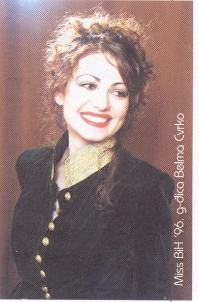 Miss BiH za 1996 godinu je Belma Zvrko