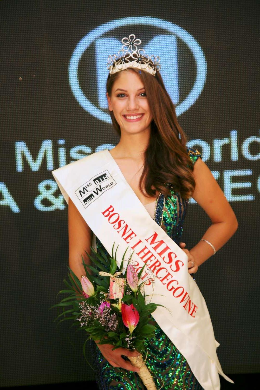 Miss BiH za 2015 godinu je Marijana Marković