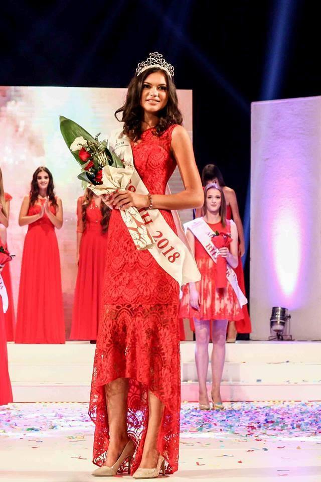 Miss BiH za 2018 godinu je Anđela Paleksić