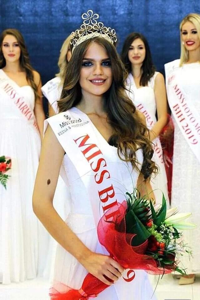 Miss BiH za 2019 godinu je Ivana Ladan